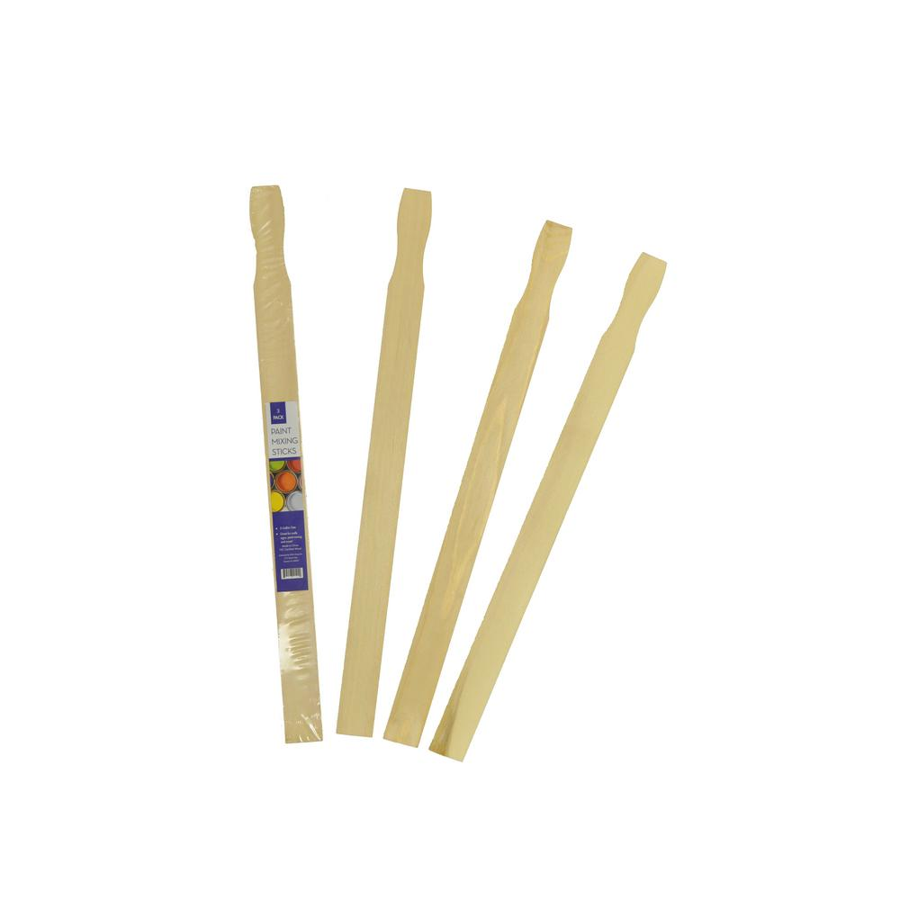 5 Gal Craft Stick And Paint Mixing Stick 90 Pack