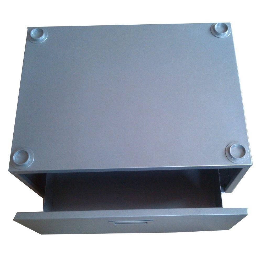 11.5 in. High Pedestal with Storage drawer