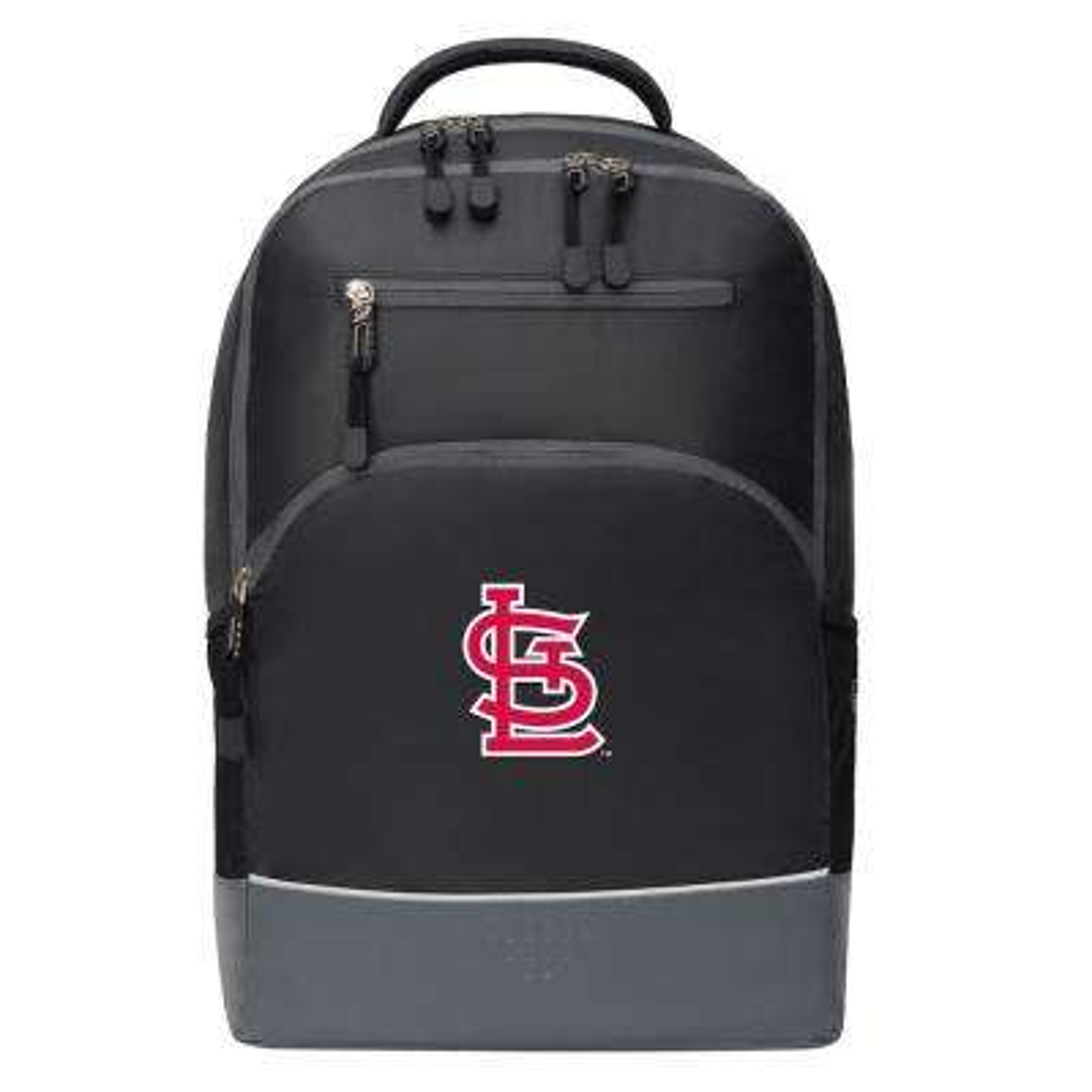 Cardinals 19 in. Black Alliance Backpack