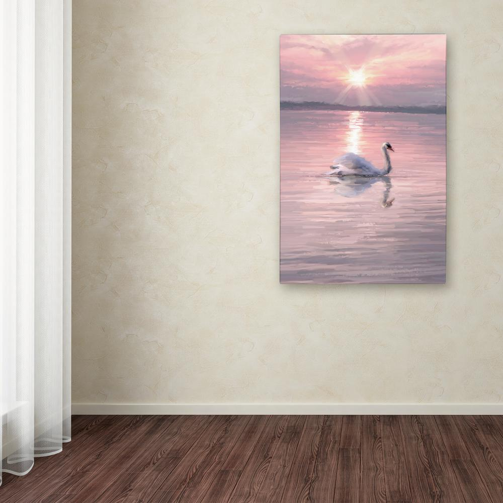 Trademark Fine Art 47 In X 30 In Farewell By The Macneil Studio Printed Canvas Wall Art Ali9114 C3047gg The Home Depot