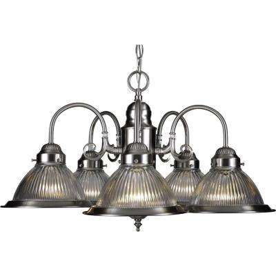Roth 5-Light Brushed Nickel Interior Chandelier