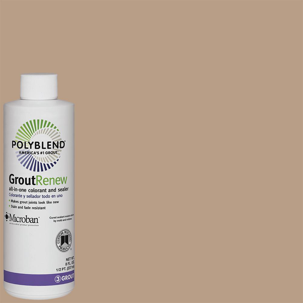 Custom Building Products Polyblend #380 Haystack 8 oz. Grout Renew Colorant