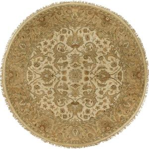 Click here to buy Artistic Weavers Bangalore Beige 8 ft. Round Area Rug by Artistic Weavers.