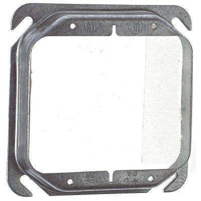 4 in. Steel Square 2-Gang Box Cover 3/4 in. Raise (Case of 25)
