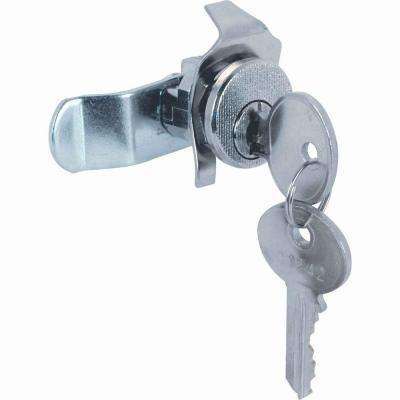 5-Pin Tumbler Diecast Nickel-Plated Mailbox Lock