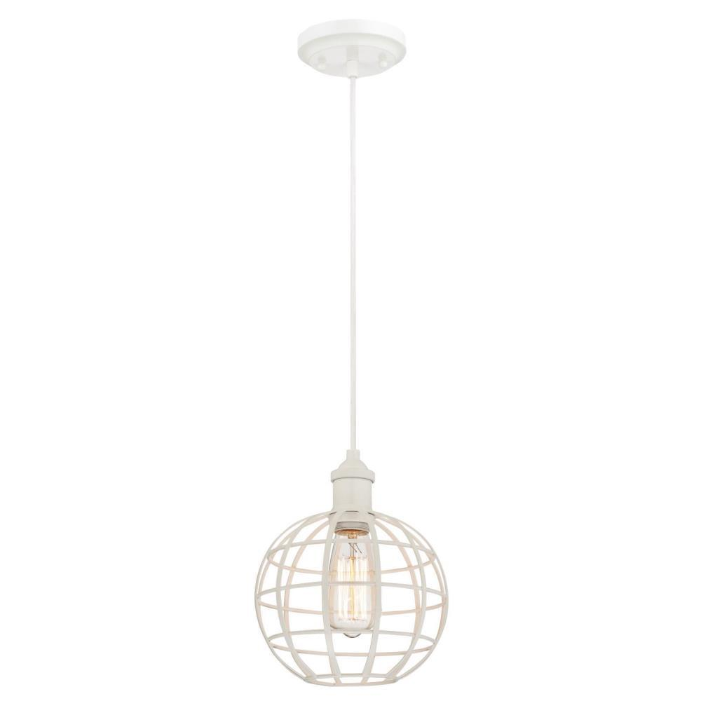 Westinghouse 1-Light White Mini-Pendant
