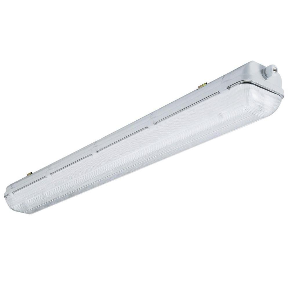 High bay lights commercial lighting the home depot 4 ft 2 light t8 contractor gasketed fluorescent fixture arubaitofo Image collections