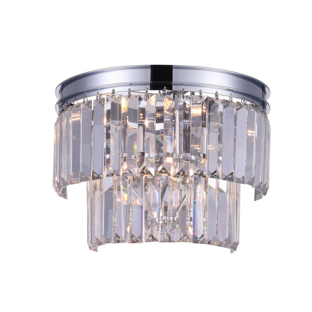 Cwi Lighting Weiss 4 Light Chrome Sconce