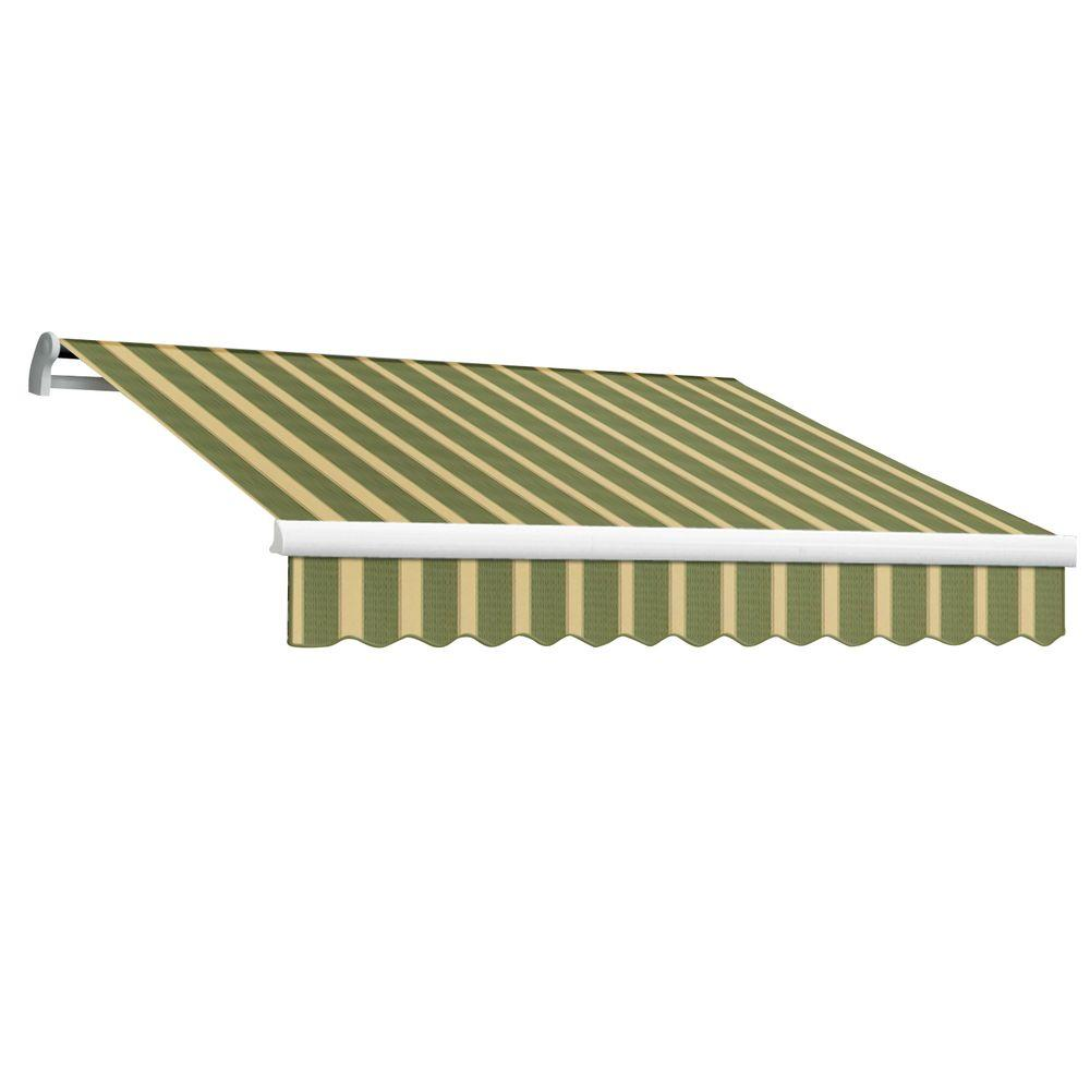 16 ft. Maui-LX Right Motor Retractable Acrylic Awning with Remote (120
