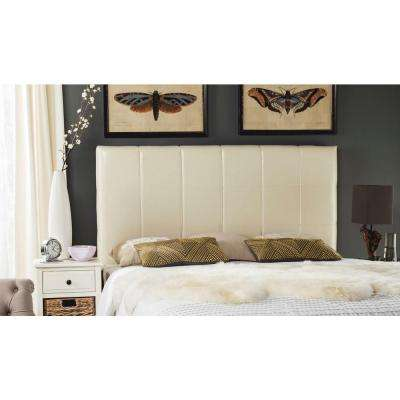Quincy White Full Headboard