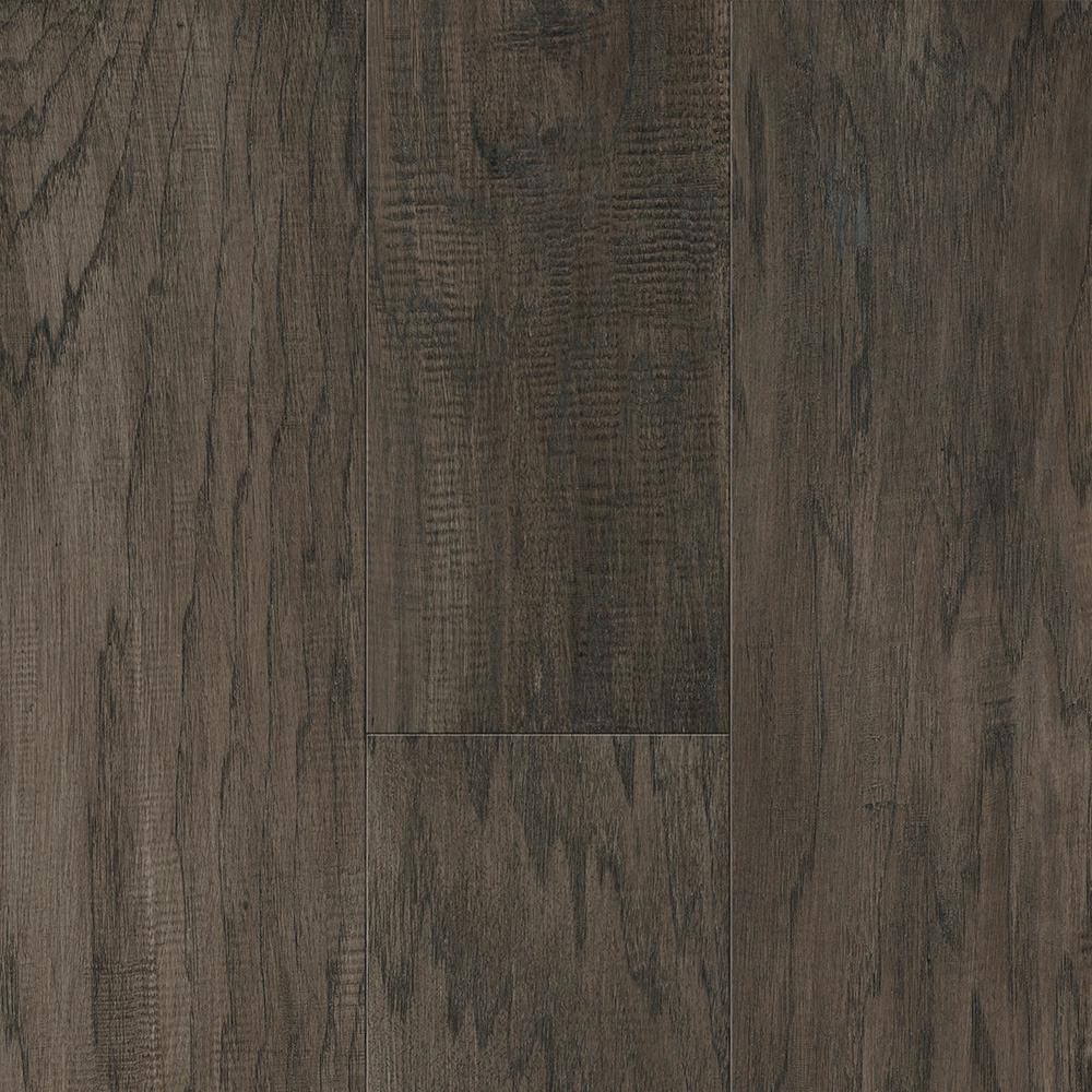 Sure+ Waterproof Flooring Drift Gray Hickory 6.5mm T x 6.5in.W x 48in.L Click Engineered Hardwood Flooring (21.67 sq.ft./case)