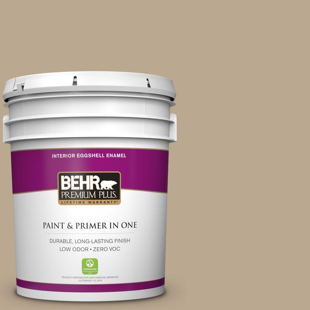 BEHR Premium Plus 5-gal. #N300-4 Open Canyon Eggshell Enamel Interior Paint