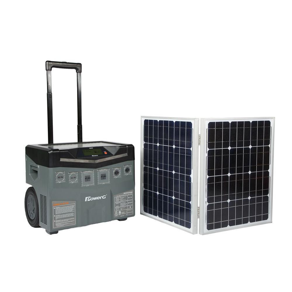 PowerG 12-Volt/1800-Watt Solar Mobility Generator