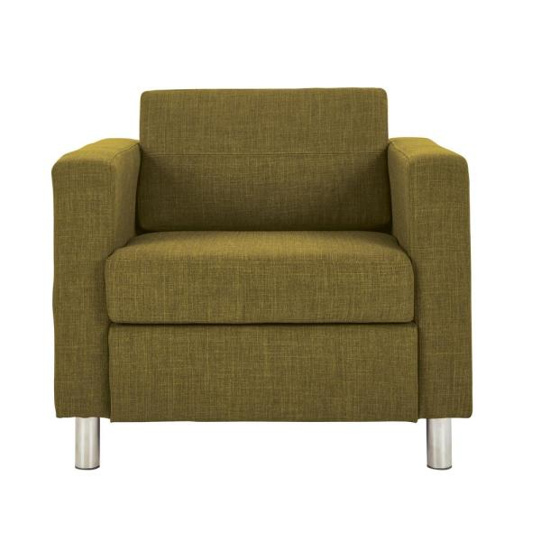 Office Star Products Pacific Green Fabric Arm Chair
