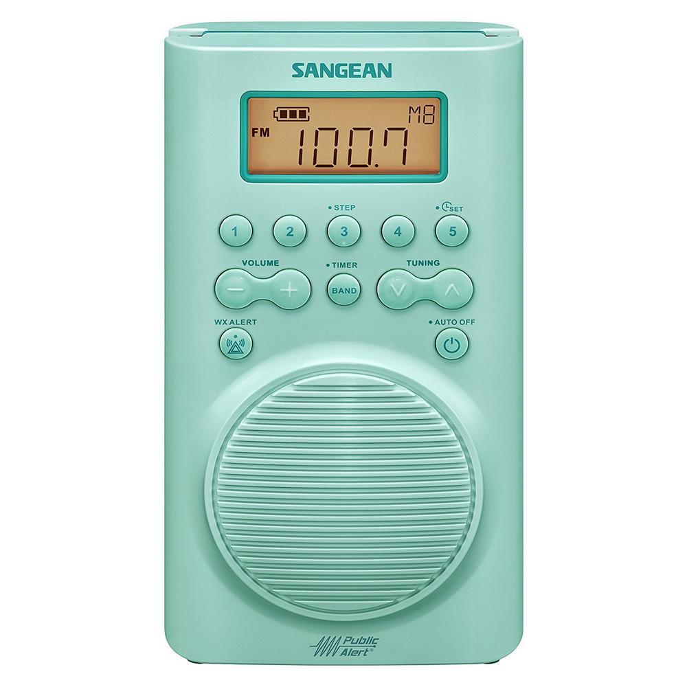 AM/FM Weather Alert Waterproof Shower Radio