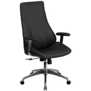 Carnegy Avenue Black Metal Office/Desk Chair