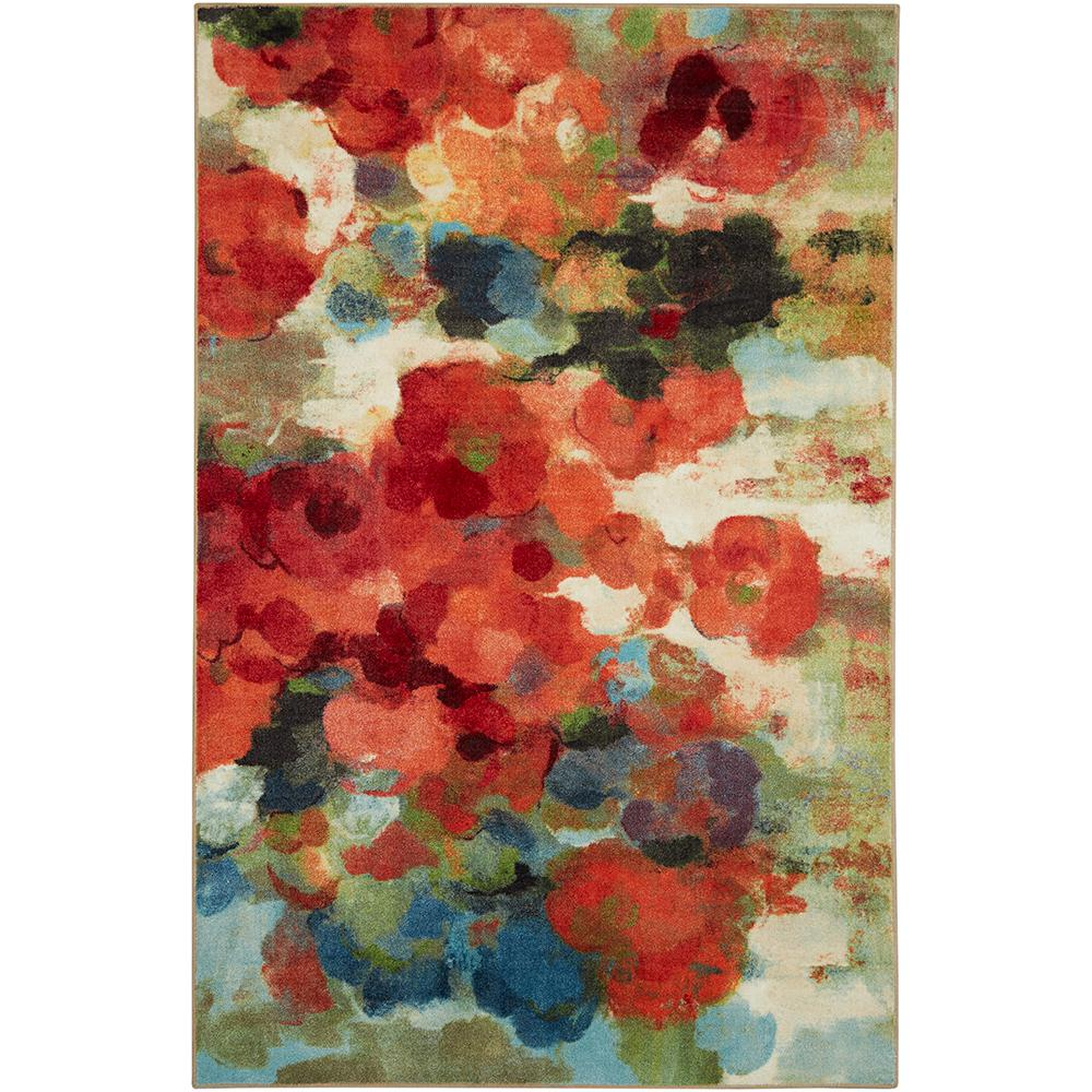 Mohawk Home Colorful Garden Multi 7 ft. 6 in. x 10 ft. Indoor Area Rug was $199.4 now $159.52 (20.0% off)