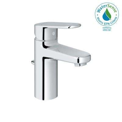 Europlus Single Hole Single-Handle 1.2 GPM Bathroom Faucet in StarLight Chrome