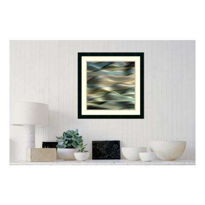 24 in. W x 24 in. H 'Undulation 5' by J.P. Clive Printed Framed Wall Art