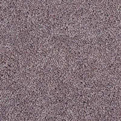 Carpet Sample - Hypersonic - Color Granite Grey Textured 8 in. x 8 in.