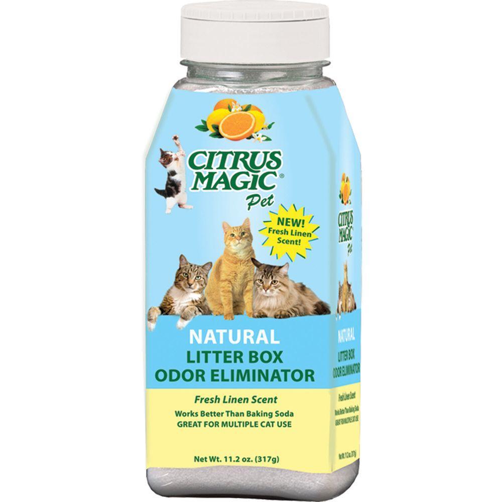 11.2 oz. Fresh Linen Litter Box Odor Eliminating Powder (3-Pack)