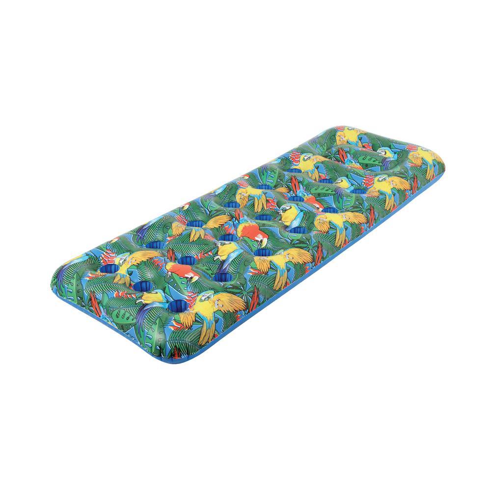 18-Pocket Parrot head Pool Float