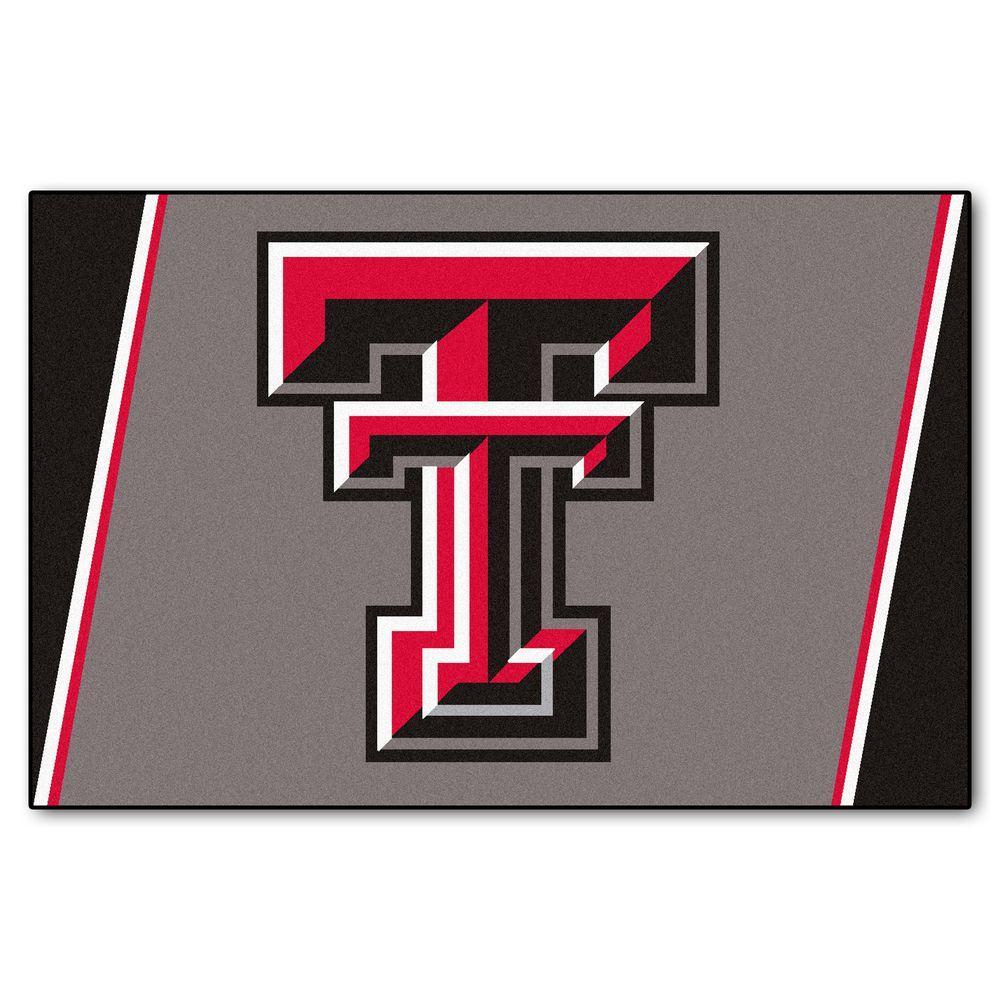 Fanmats Texas Tech University 5 Ft X 8 Ft Area Rug 6993