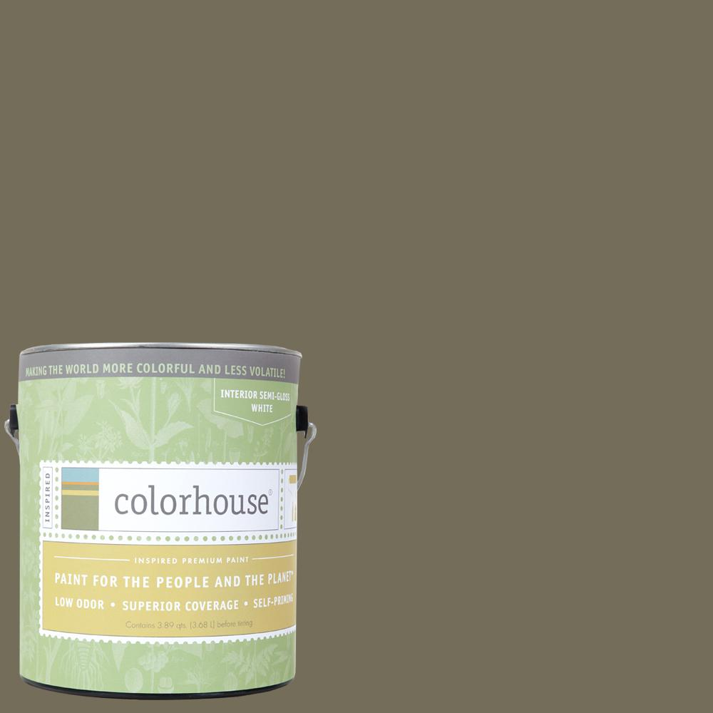Colorhouse 1 gal. Stone .06 Semi-Gloss Interior Paint