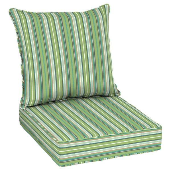 Oak Cliff 24 x 24 Sunbrella Foster Surfside Deep Seating Outdoor Lounge Chair Cushion