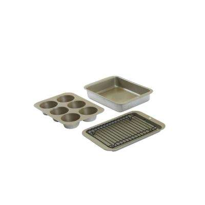 5-Piece Silver Bakeware Set