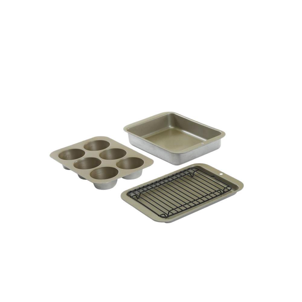 Nordic Ware Nonstick Compact Ovenware 5 Pc Bake Set 43215M