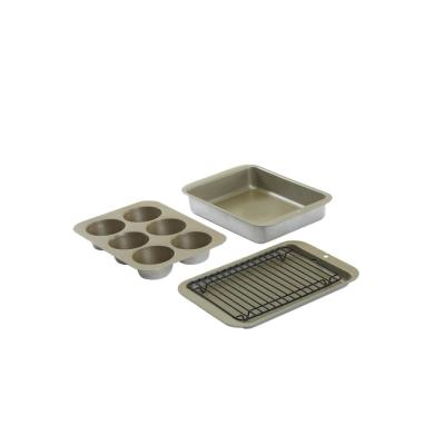 Nonstick Compact Ovenware 5 Pc Bake Set