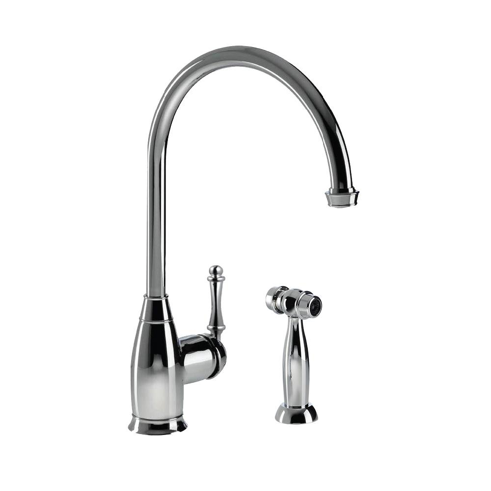 Glacier Bay Builders Single Handle Standard Kitchen Faucet In Diagram Moreover Old Kohler Shower Valve Parts On Charlotte Traditional With Sidespray And