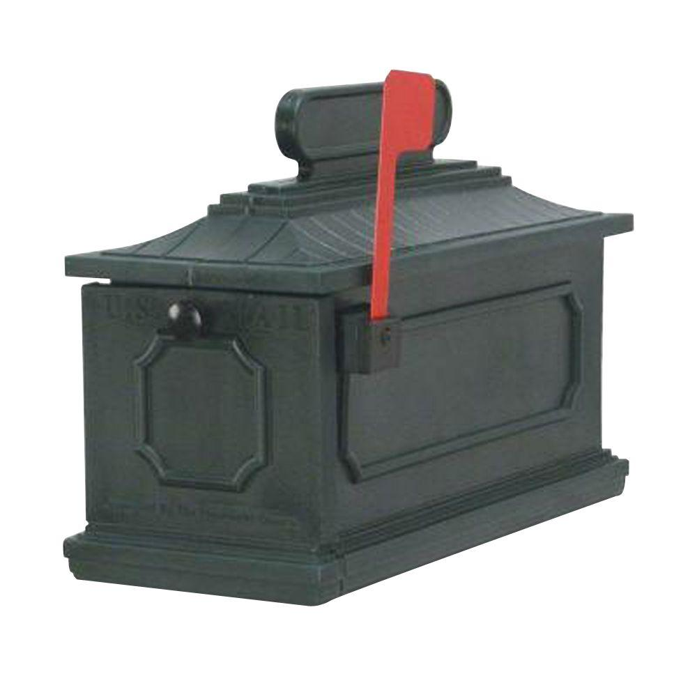 1812 Architectural Mailbox in Green