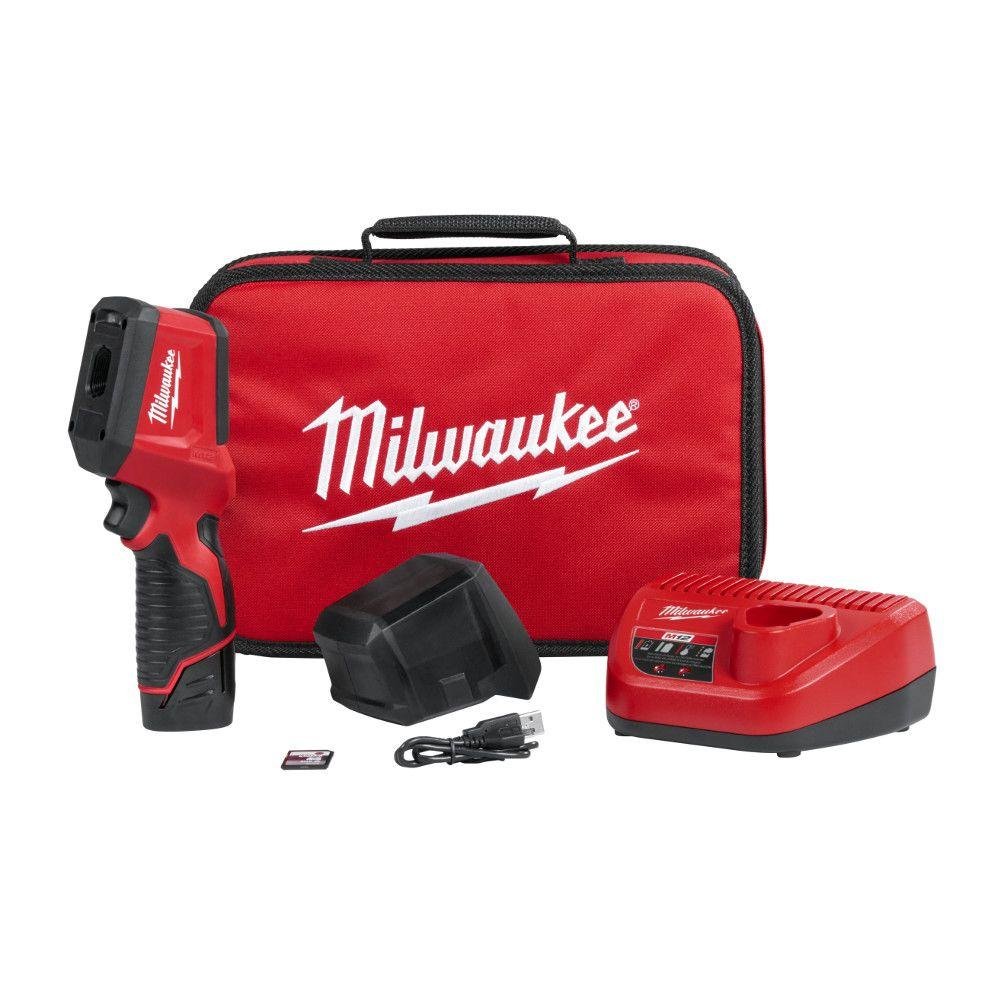 Milwaukee M12 12-Volt Lithium-Ion Cordless Thermal Imager Kit W/(1