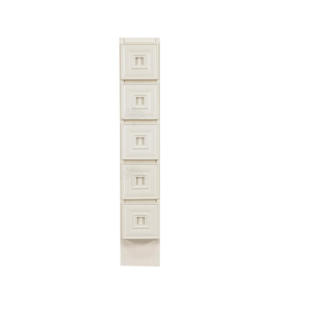 LIFEART CABINETRY Princeton Assembled 6x34.5x24 in. Base ...