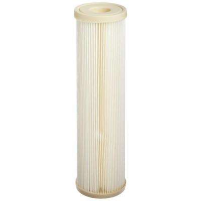 ECP1-10 9-3/4 in. x 2-5/8 in. Pleated Sediment Water Filter