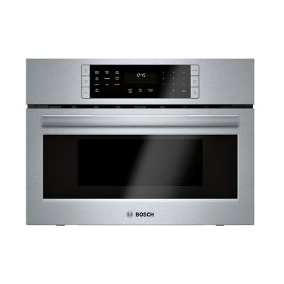 800 Series 27 in. 1.6 cu. ft. Built-In Convection Speed Microwave in Stainless Steel with SpeedChef Cooking
