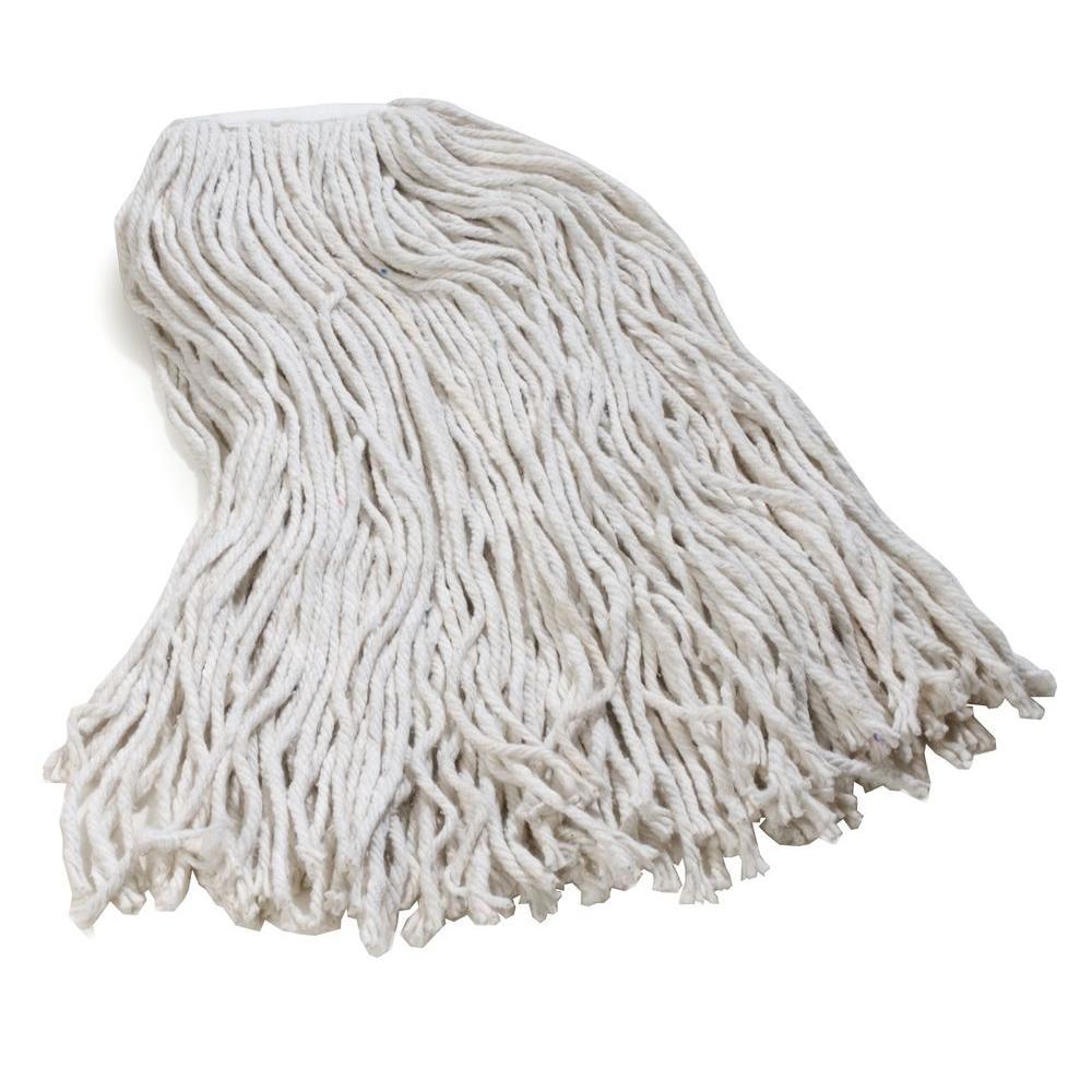 4-Ply X-large Cotton Cut End Wetmop (12-Pack)