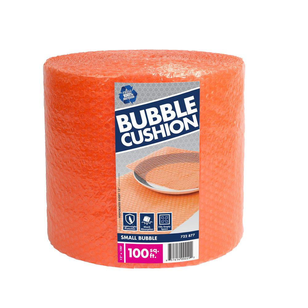 3/16 in. x 12 in. x 100 ft. Perforated Bubble Cushion