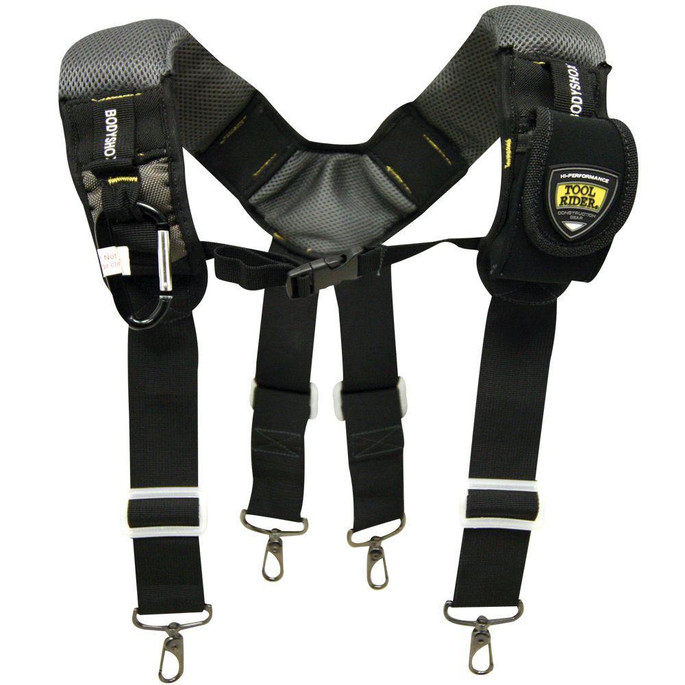 Brown Bag Co ToolRider GSX Gel-Foam Suspenders