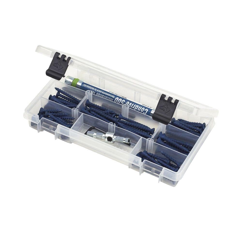 Husky 9 in 6 compartment bin small parts organizer 83043n13 the husky 9 in 6 compartment bin small parts organizer sciox Images