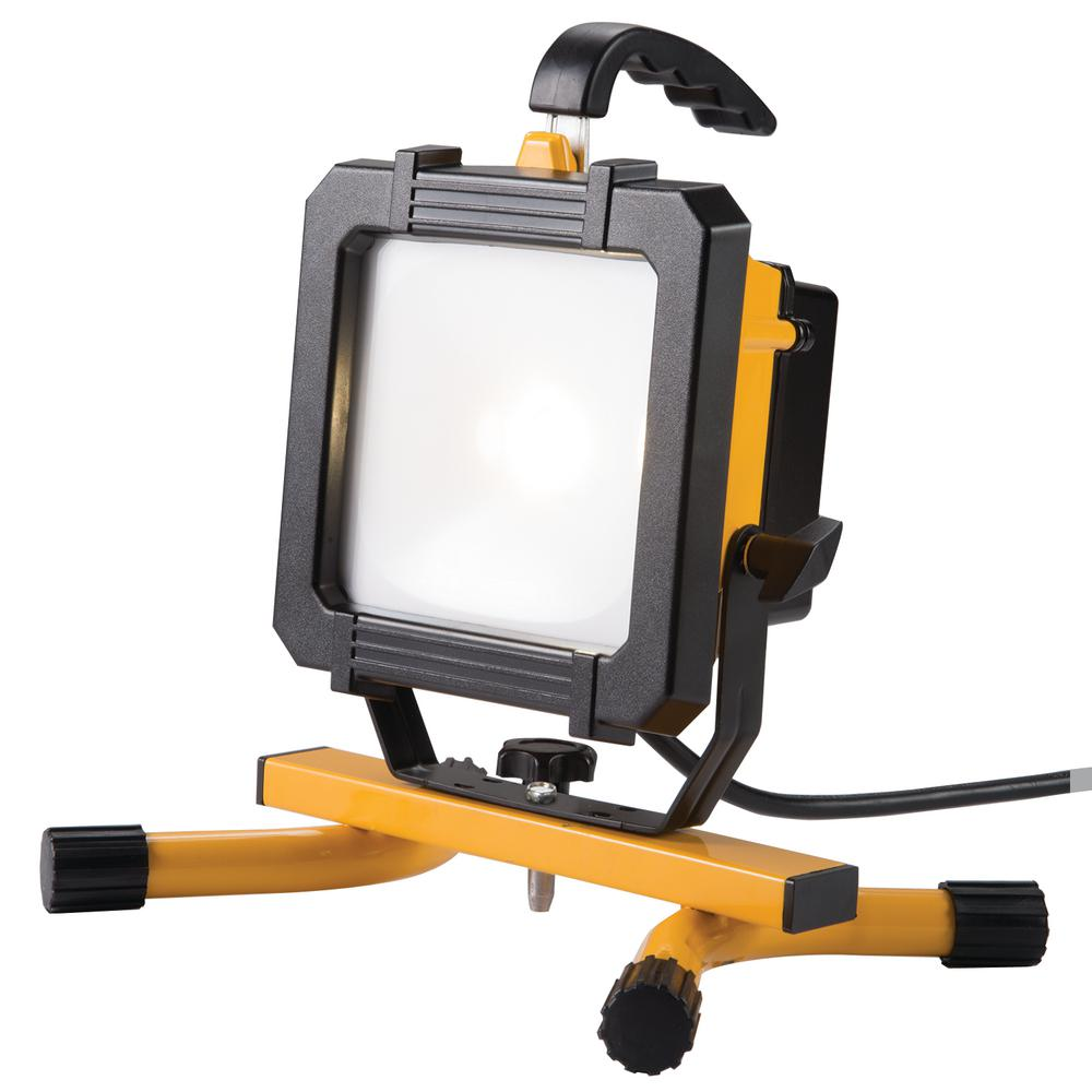 Work Light Total Tools: All-Pro 2500 Lumen LED Portable Work Light