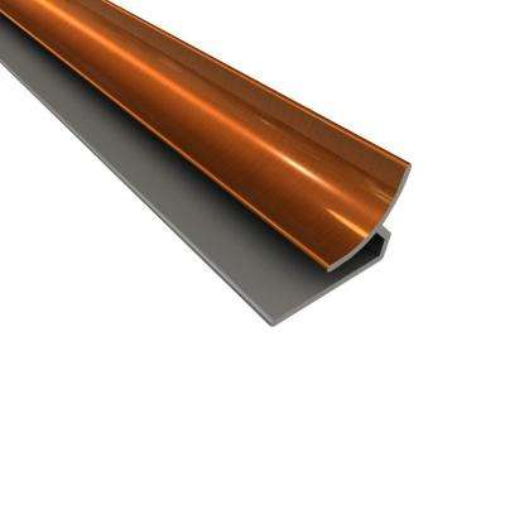 4 ft. Large Profile Inside Corner Trim in Oil-Rubbed Bronze