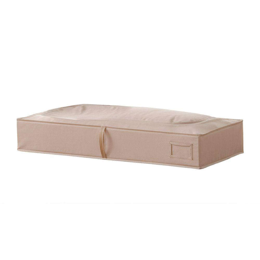 Superbe Neatfreak Under The Bed Storage Bag In Sand Pebble Taupe