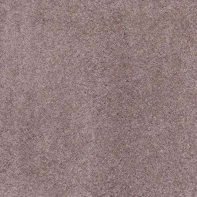 Coral Reef I - Color Smoky Amethyst Texture 12 ft. Carpet