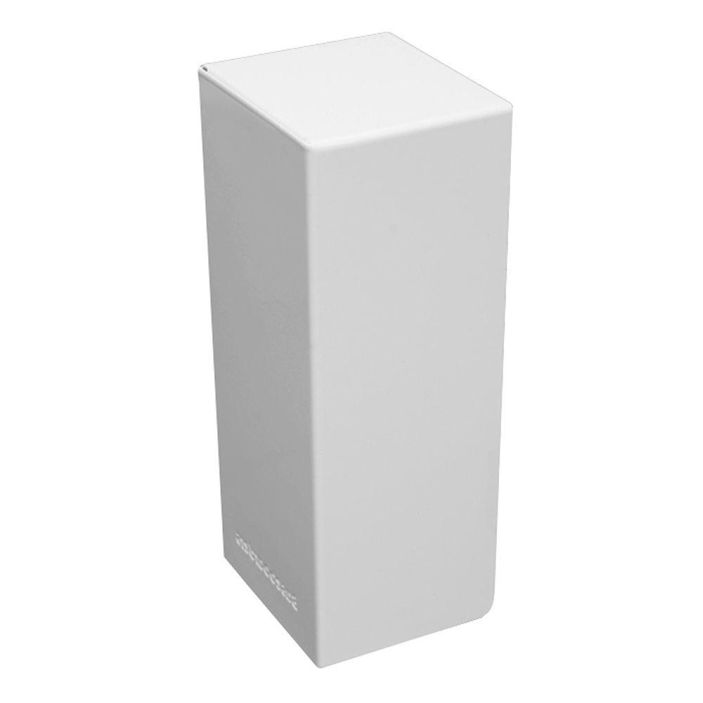 Basic Series Steel Easy Slip-On Baseboard Heater Cover Left Side End
