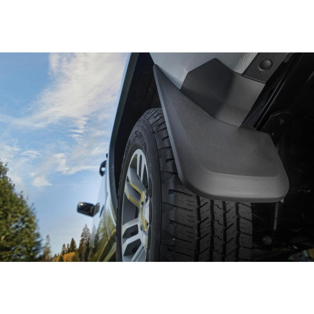 Universal Fitment SS Wt Husky Liners Universal Mud Flaps 12IN Wide