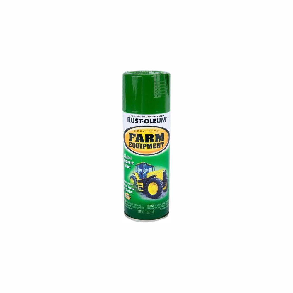 Rust-Oleum Specialty 12 oz. Farm Equipment John Deere Green Gloss Enamel Spray Paint (6-Pack)