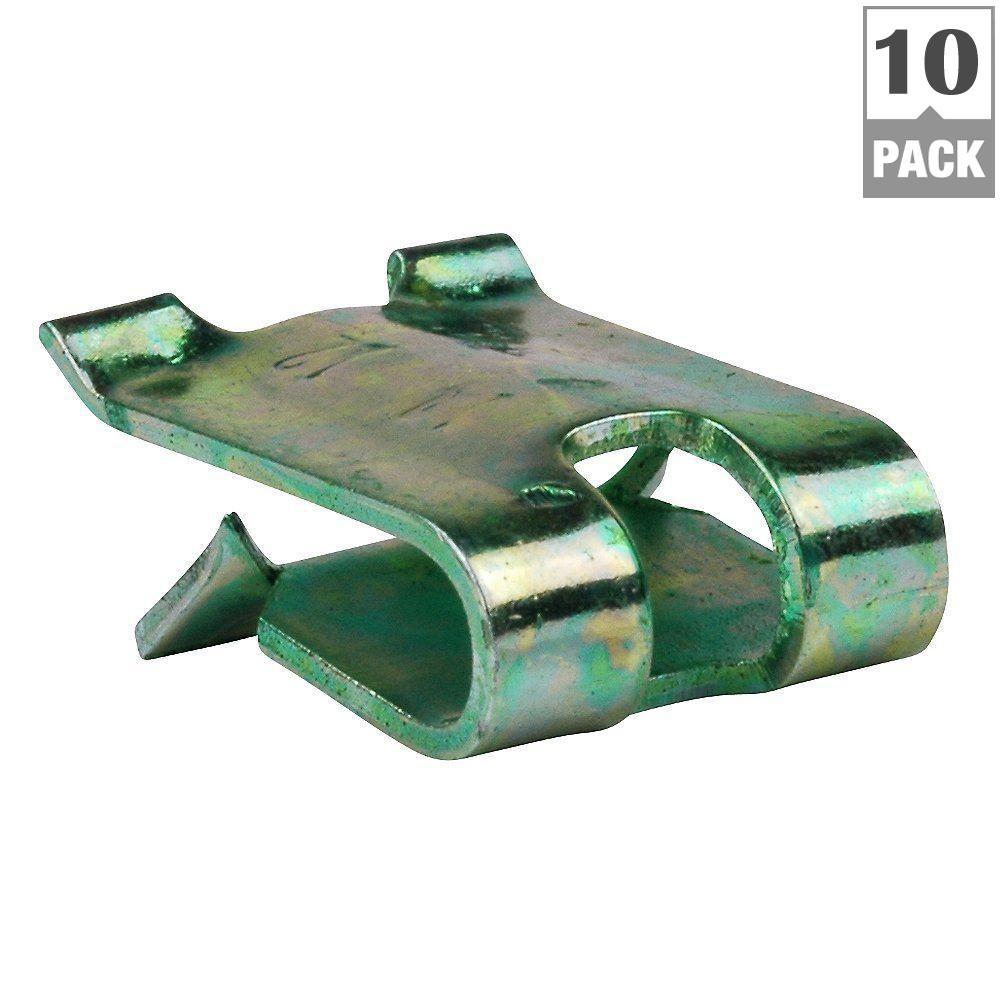 Steel Grounding Clip (10-Pack)